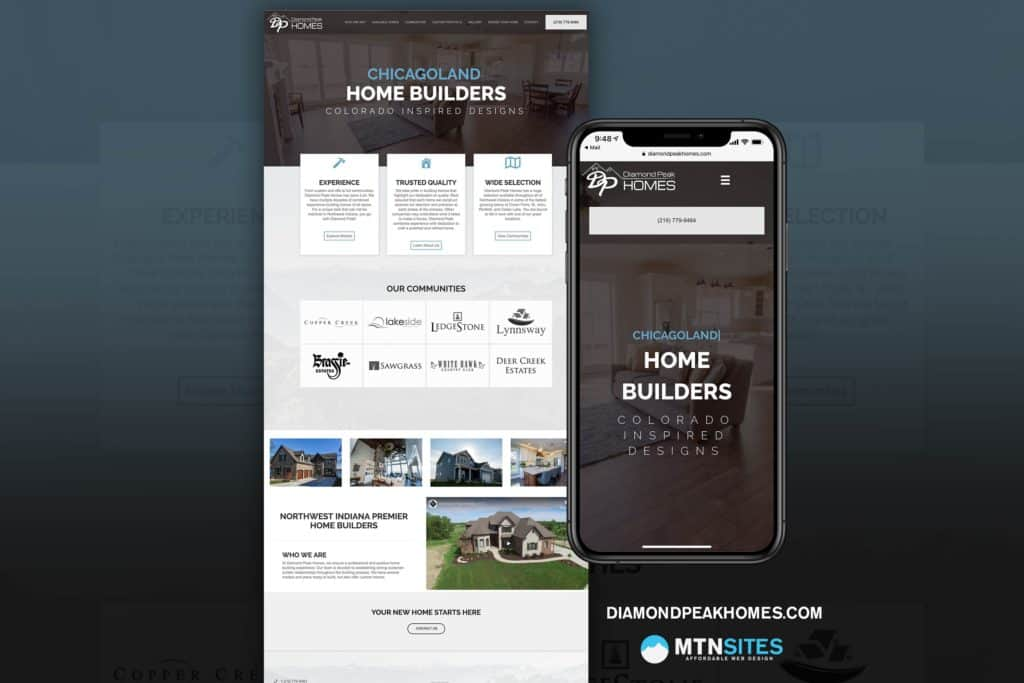 DiamondPeakHomes.com - MtnSite for Diamond Peak Homes 4