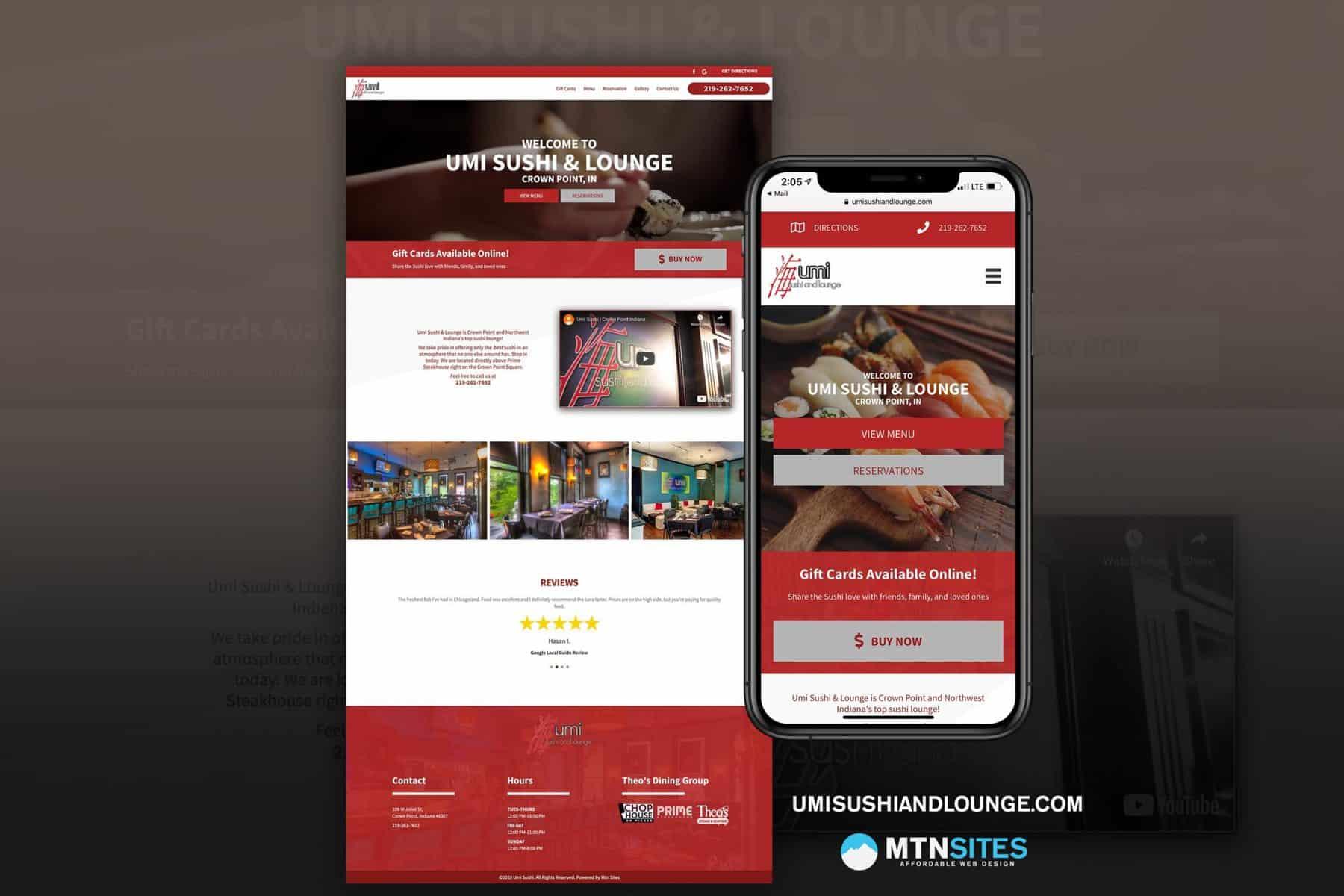 Pricing Affordable Web Design Mtn Sites